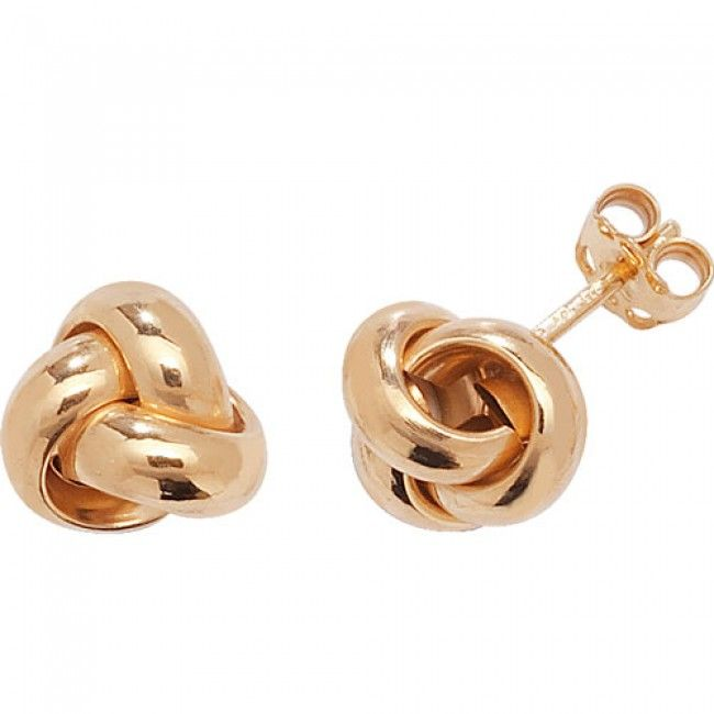 Just Gold Earrings -9 Ct Earrings, ER529