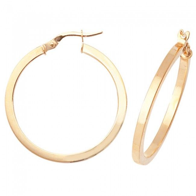 Just Gold Earrings -9Ct Earrings, ER871